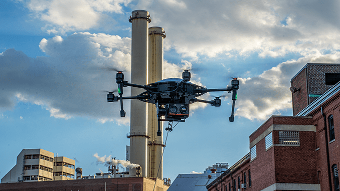 Easy Aerial Launches Albatross Multi Payload Tethered Drone Surveillance System