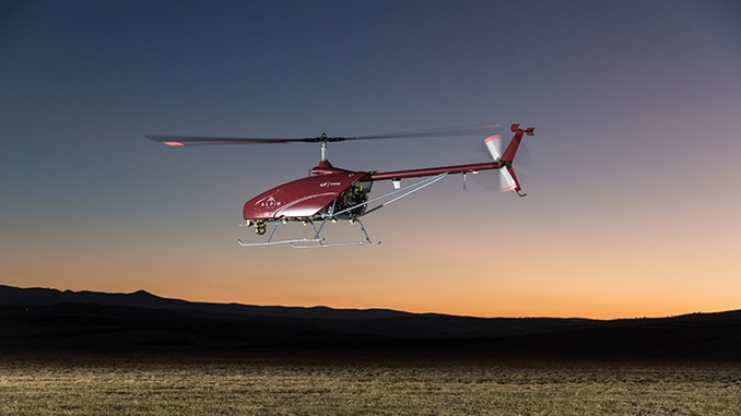 UAVOS & TITRA Alpin Unmanned Helicopter Successful Flight in Turkey's Sky