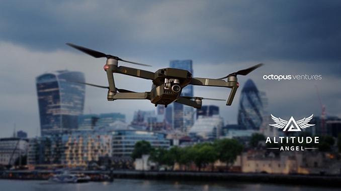 Global Drone Super-highways a Step Closer as Octopus Ventures Back Altitude Angel