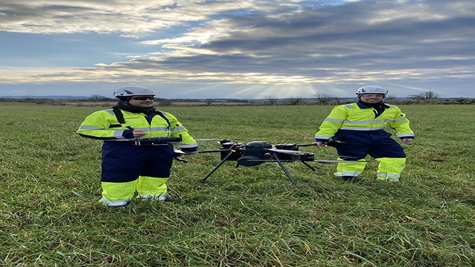 Nordic Unmanned has Developed and Demonstrated a Hydrogen Fuel Cell Powered Drone