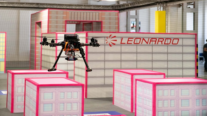 Leonardo: more and more technology in Drone Contest 2021
