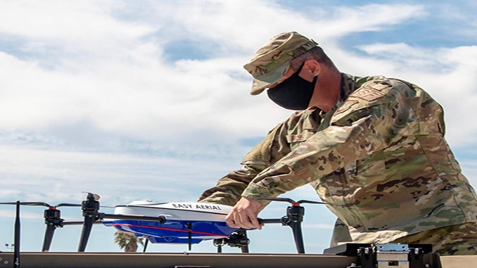 Travis Air Force Base and Easy Aerial Partner for Autonomous Drone-Based Security Operations
