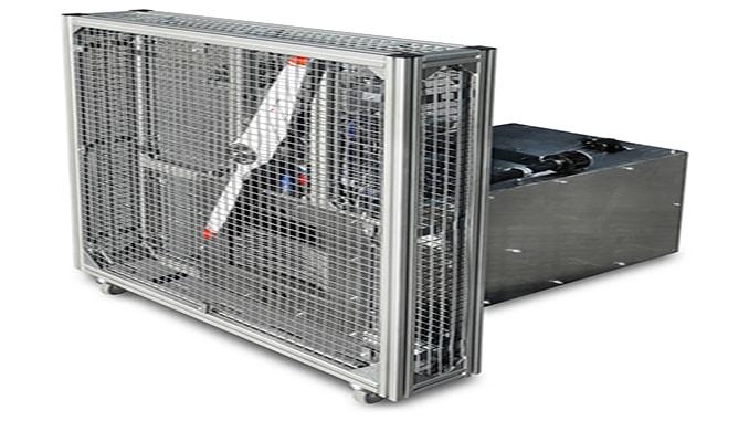 Sky Power develops portable test stand for Wankel engine SP-180 SRE hybrid