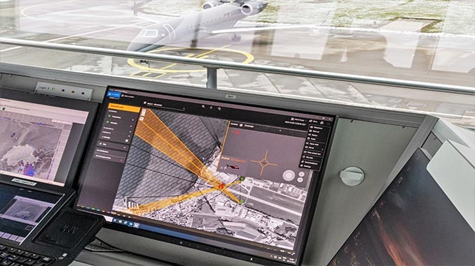 DroneShield deploys C-UAS DroneSentry at Swiss Airport