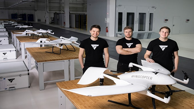 Wingcopter Secures $22M for Delivery Drones Serial Production