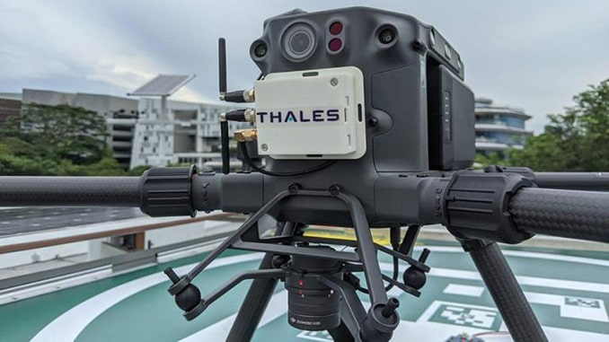Thales and H3 Dynamics enter drone automation age
