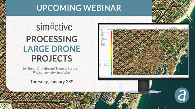 Processing Large Drone Projects Webinar