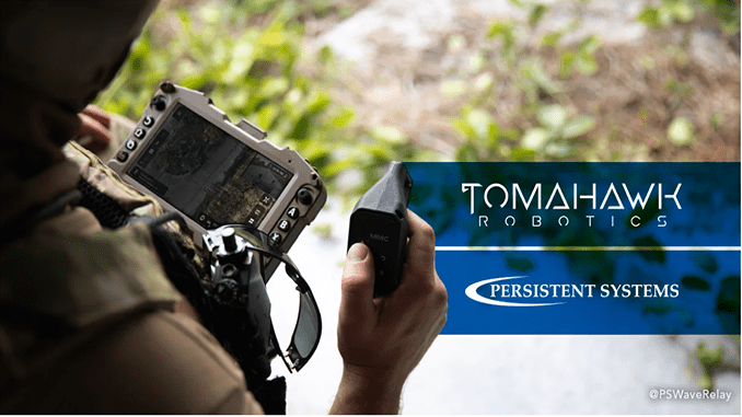 "Tomahawk Robotics brings its Kinesis ""universal robotic controller"" app for UAS to MPU5 networked radio"