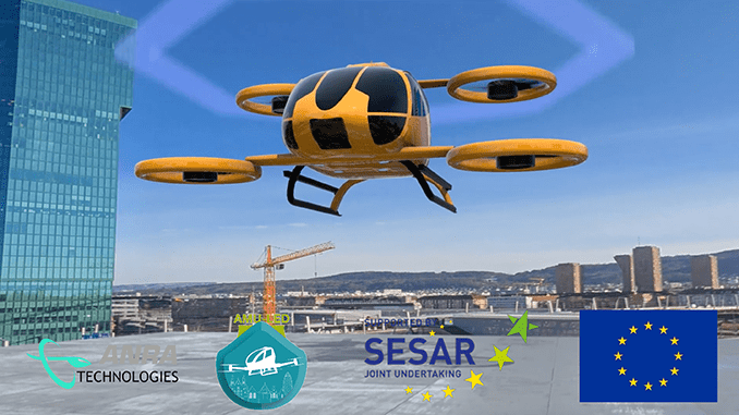 ANRA Providing Airspace Management for Large Scale European Union Urban Air Mobility Project