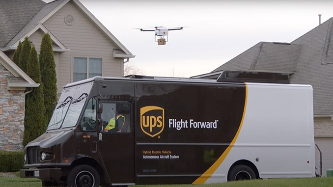 Verizon, UPS, and Skyward announce connected drone delivery at CES 2021