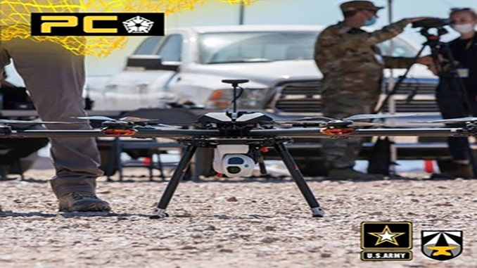 SSCI Artificial Intelligence-Enabled UAV Completes Successful Flight Demonstration for the U.S. Army's Project Convergence
