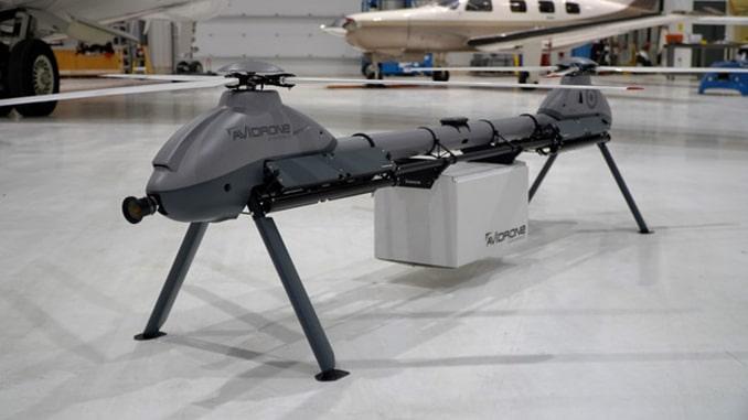 Avidrone Aerospace Exhibits Flagship 210TL Tandem Drone