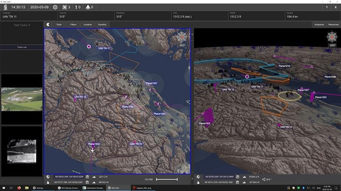 """Kongsberg Geospatial Improves BVLOS Drone Operations Safety with a """"Horizonless Air Picture"""""""