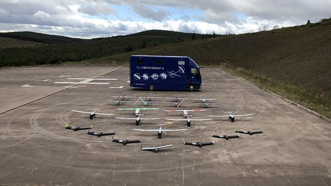 UK flies 20-drone swarm in major test
