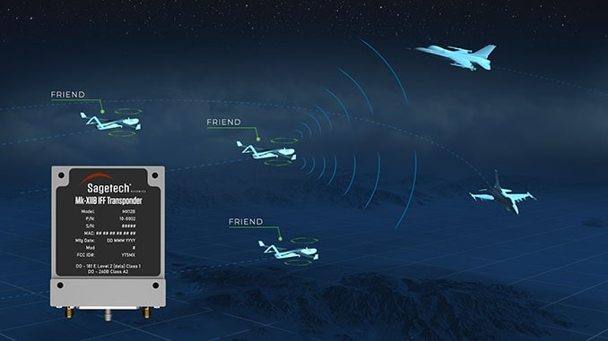 Sagetech Avionics Receives DoD AIMS Certification for Mode 5 Micro IFF Transponder for Drones