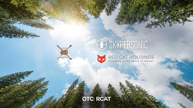 "Red Cat Signs Definitive Agreement to Acquire Skypersonic and its ""Fly Anywhere"" Drone Technologies"