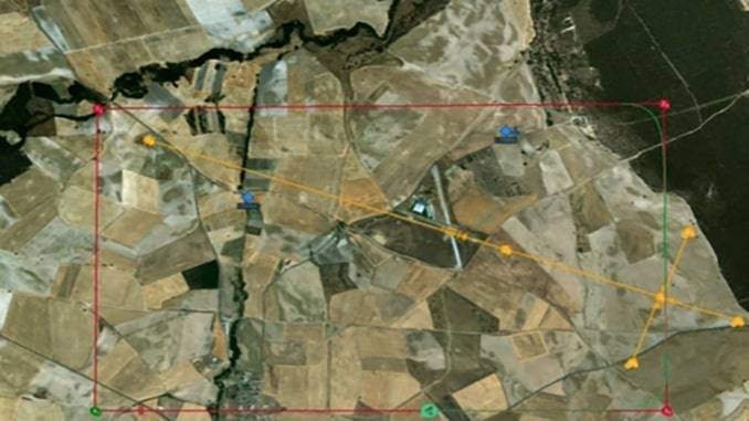 Surrounding Traffic Visualization for ACAS by UAV Navigation
