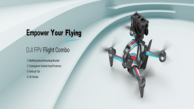 SmallRig releases DJI FPV Aerodynamics Combo, Officially Entering Drone Accessories Market