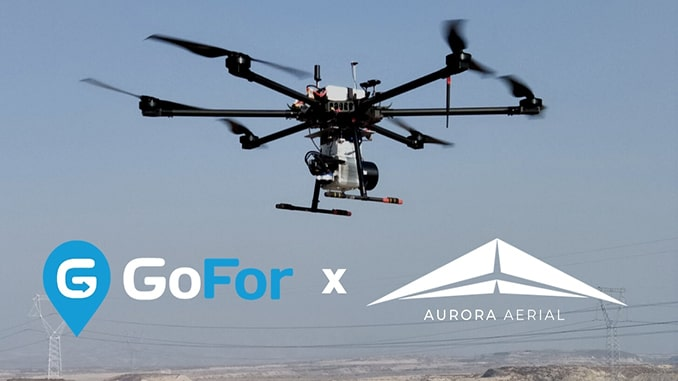 GoFor Industries Partners with Aurora Aerial for Drone Delivery Partnership