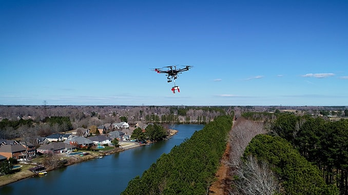 DroneUp® Taps A2Z Drone Delivery for Residential UAV Deliveries