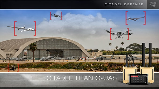 Citadel Defense Secures New $5M Counter Drone Contract from U.S. Department of Defense