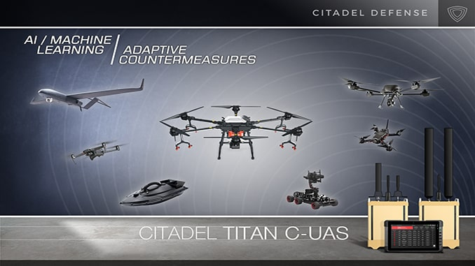 Citadel Defense Receives Multiple International Contracts for Low-Collateral Impact Titan Counter Drone System