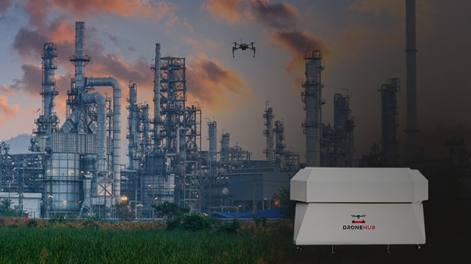 Dronehub and RCS Engineering will create an innovative property monitoring and security system