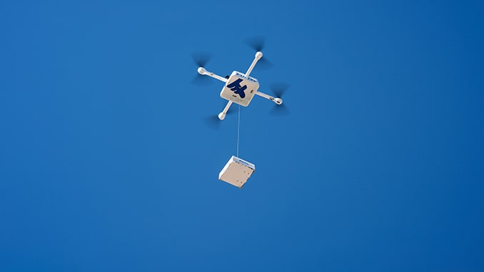 Flirtey to certify and expand production of the Flirtey Eagle drone delivery system