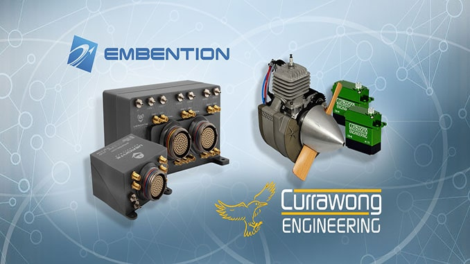 Embention and Currawong Engineering announce Integration Partnership of their systems