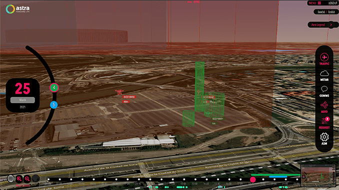 Astra UTM showcases the future of drone traffic management at Zaragoza Drone Hub Inauguration