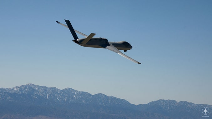 GA-ASI's Avenger ER Receives FAA Experimental Certificate