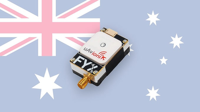 Ping1090i UAS ADS-B Transceiver Now Approved in Australia