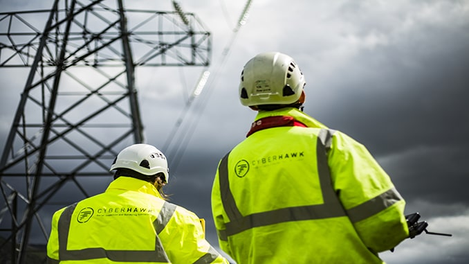 Cyberhawk supports national utility's innovation and environmental commitments