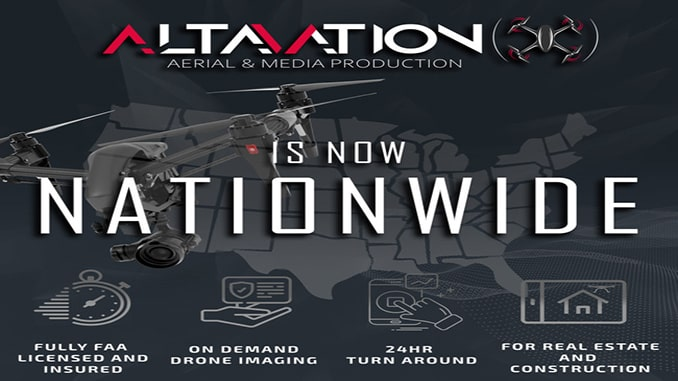Altavation Provides On-Demand Nationwide Drone Imaging for Real Estate