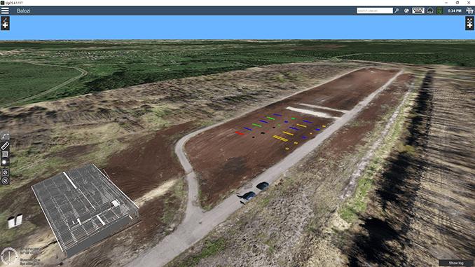 Test range for UAV-based geophysical sensors launched in Latvia