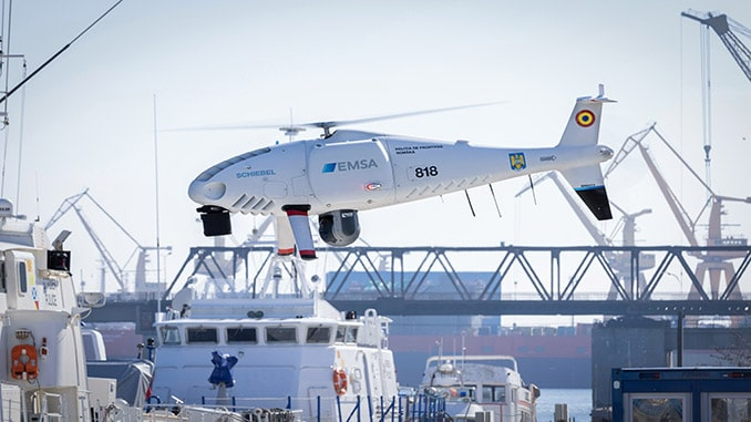Schiebel Camcopter® S-100 performs maritime surveillance for Romanian Border Police