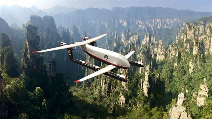 Amazilia Aerospace and Pipistrel to develop Heavy Cargo Hybrid VTOL Drone for SF Express