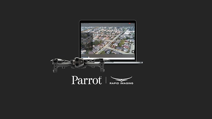 Parrot and Rapid Imaging bring AR situational awareness to professional drone users