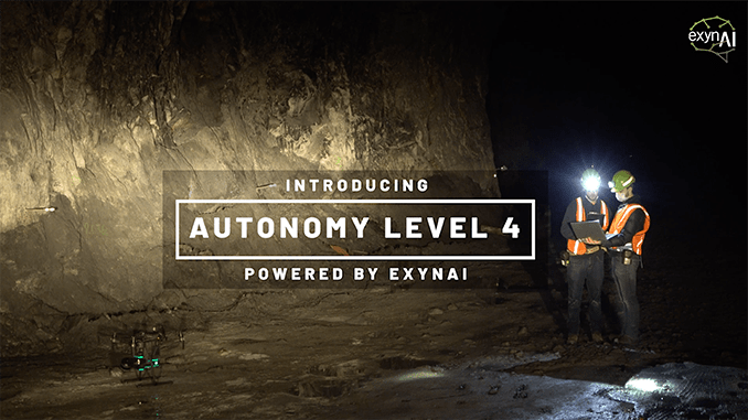 Exyn Drones Achieve Autonomy Level 4: The Most Sophisticated Level of 3D Aerial Autonomy To-Date