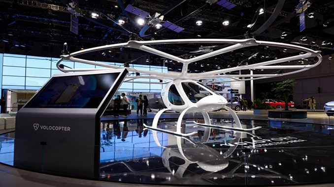 Volocopter and Geely Present Volocopter Model at Auto Shanghai 2021