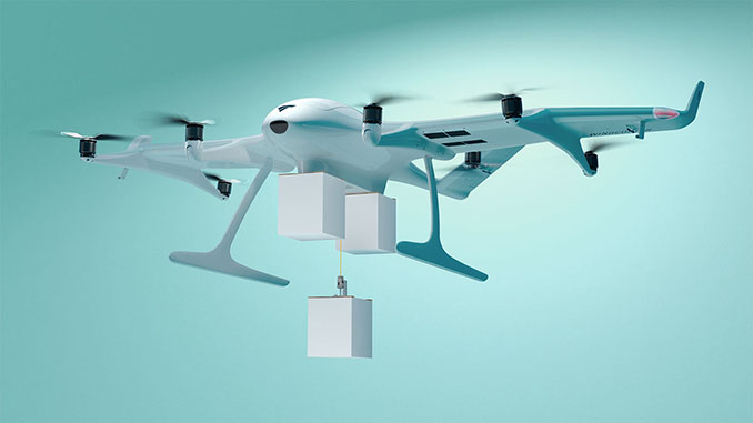 Wingcopter announces world's first triple-drop delivery drone