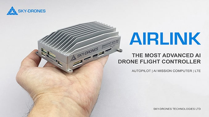 Sky-Drones Technologies Launches AIRLink