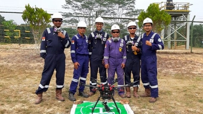 Terra Drone Has Been Conducting Drone Flare Stack Inspection for Chevron