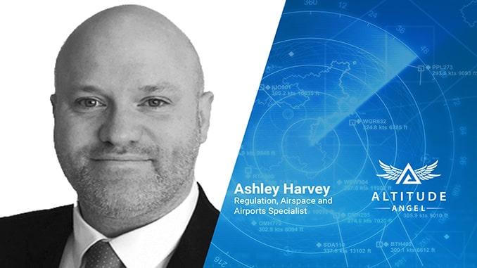 Former Gatwick UAS Lead Ashley Harvey Joins Altitude Angel