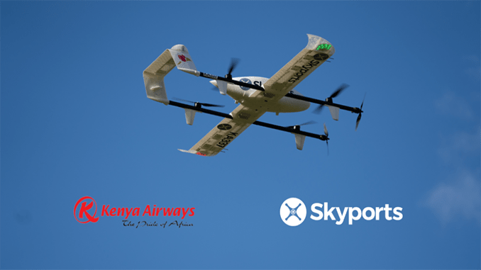 Kenya Airways and Skyports to launch drone delivery service in Kenya