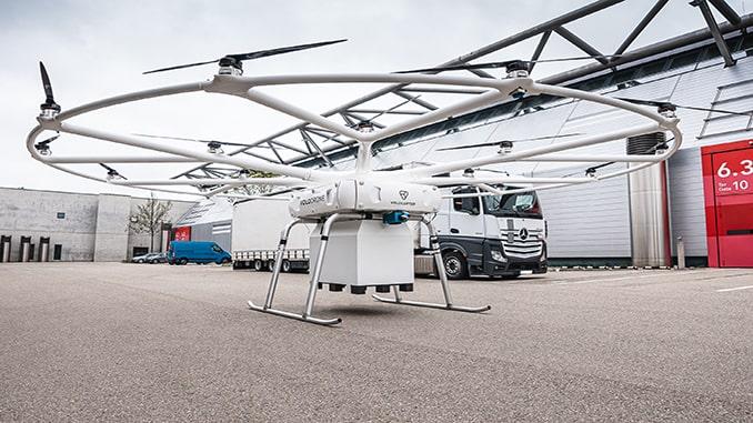 Volocopter and Near Earth Autonomy Partner on Autonomous Flight Capabilities for the VoloDrone