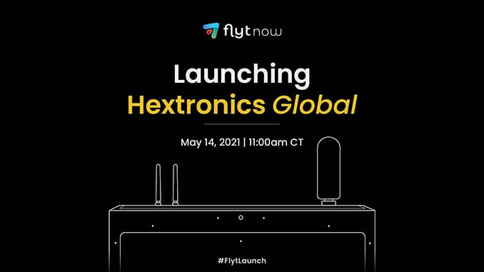 FlytLaunch – Witness the official release of the all-new Hextronics Global Drone docking station