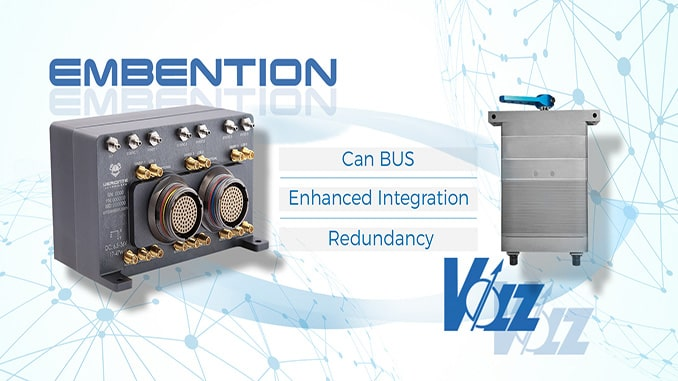 Volz Servos and Embention join efforts to ensure reliability in large UAV control