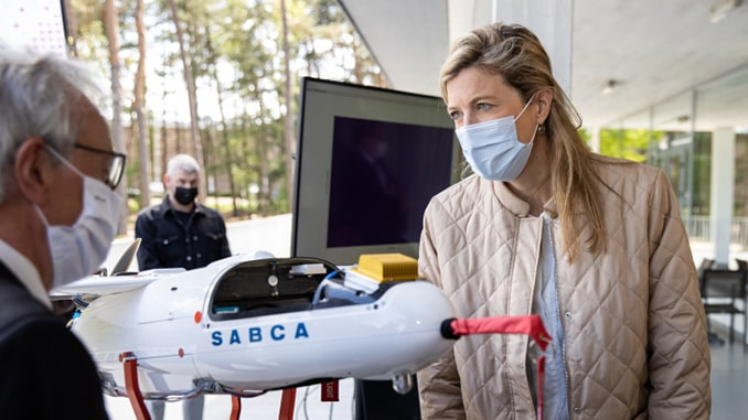 Drones carry out high-precision radiation monitoring