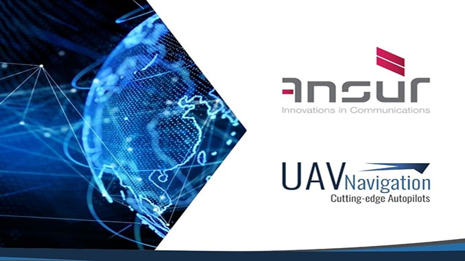 New Partnership Between AnsuR And UAV Navigation Brings Satellite Video Streaming For UAV To Success